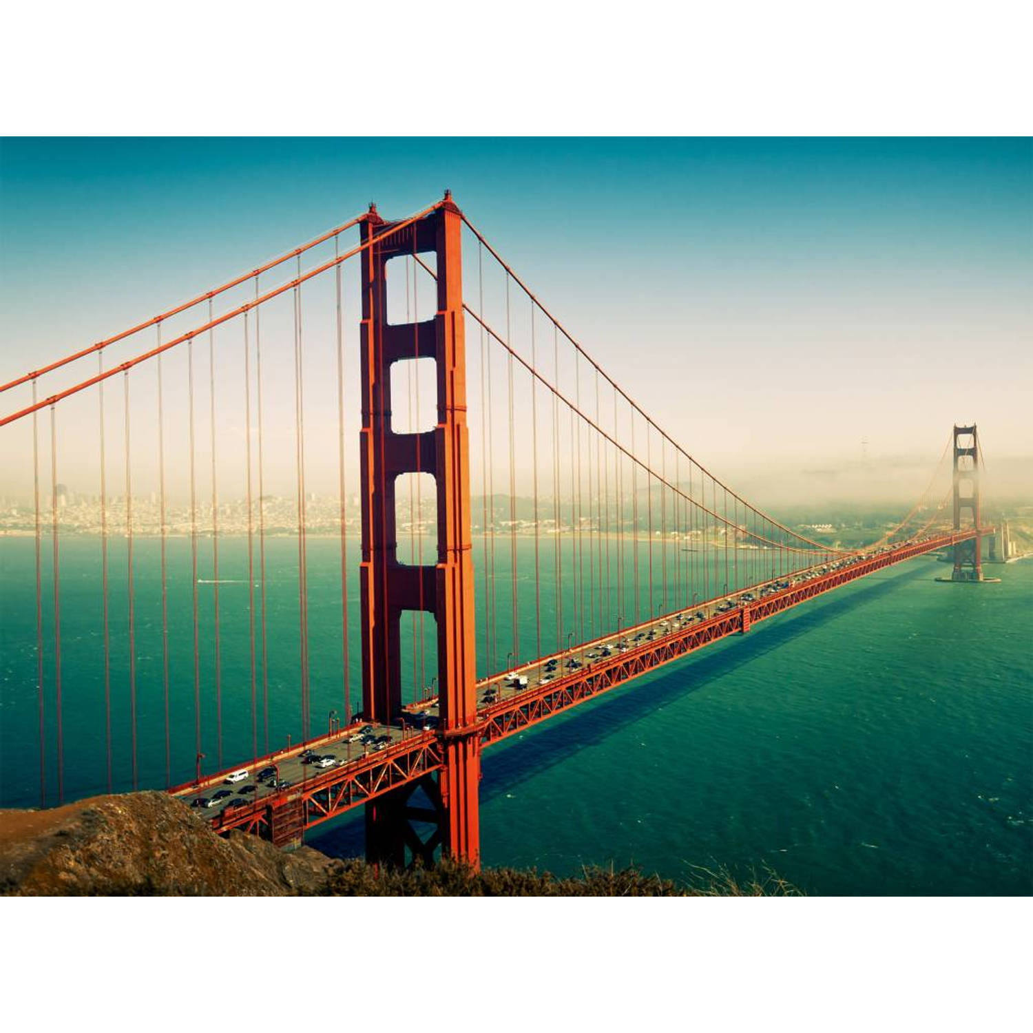 San Francisco Golden Gate Bridge - 232 cm x 315 cm - Multi