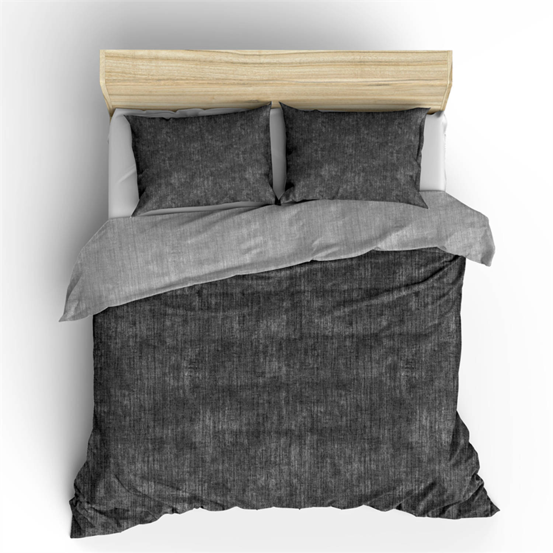 Nightlife Dekbedovertrek Washcotton Antraciet Grey Flanel-240x200/220