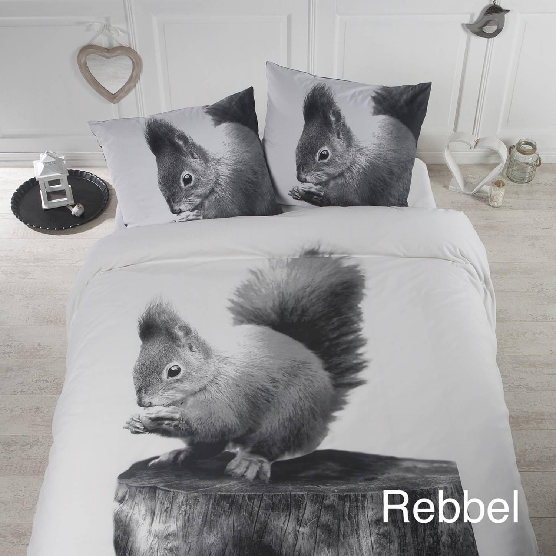 Tweepersoons dekbedhoes eekhoorn
