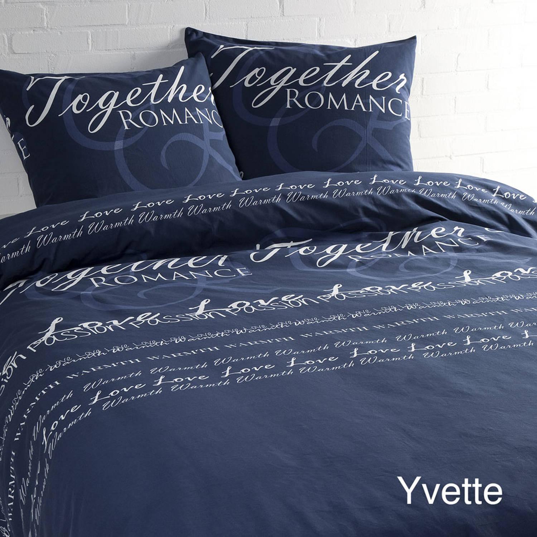 Korting Day Dream Dekbedovertrek Yvette Blauw 200 X 200 220 Cm