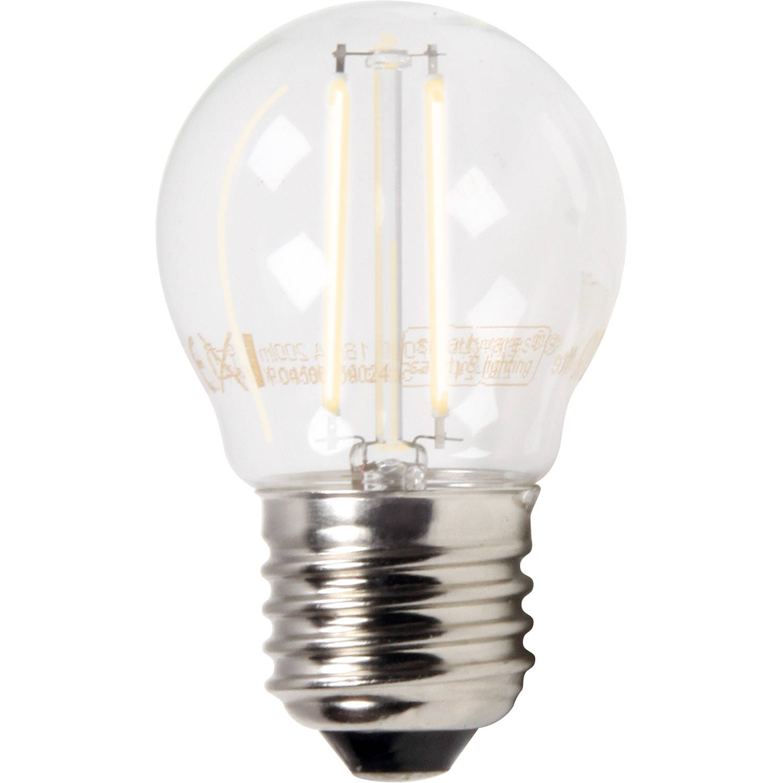 LED Filament Kogellamp E27 2W XQ1404