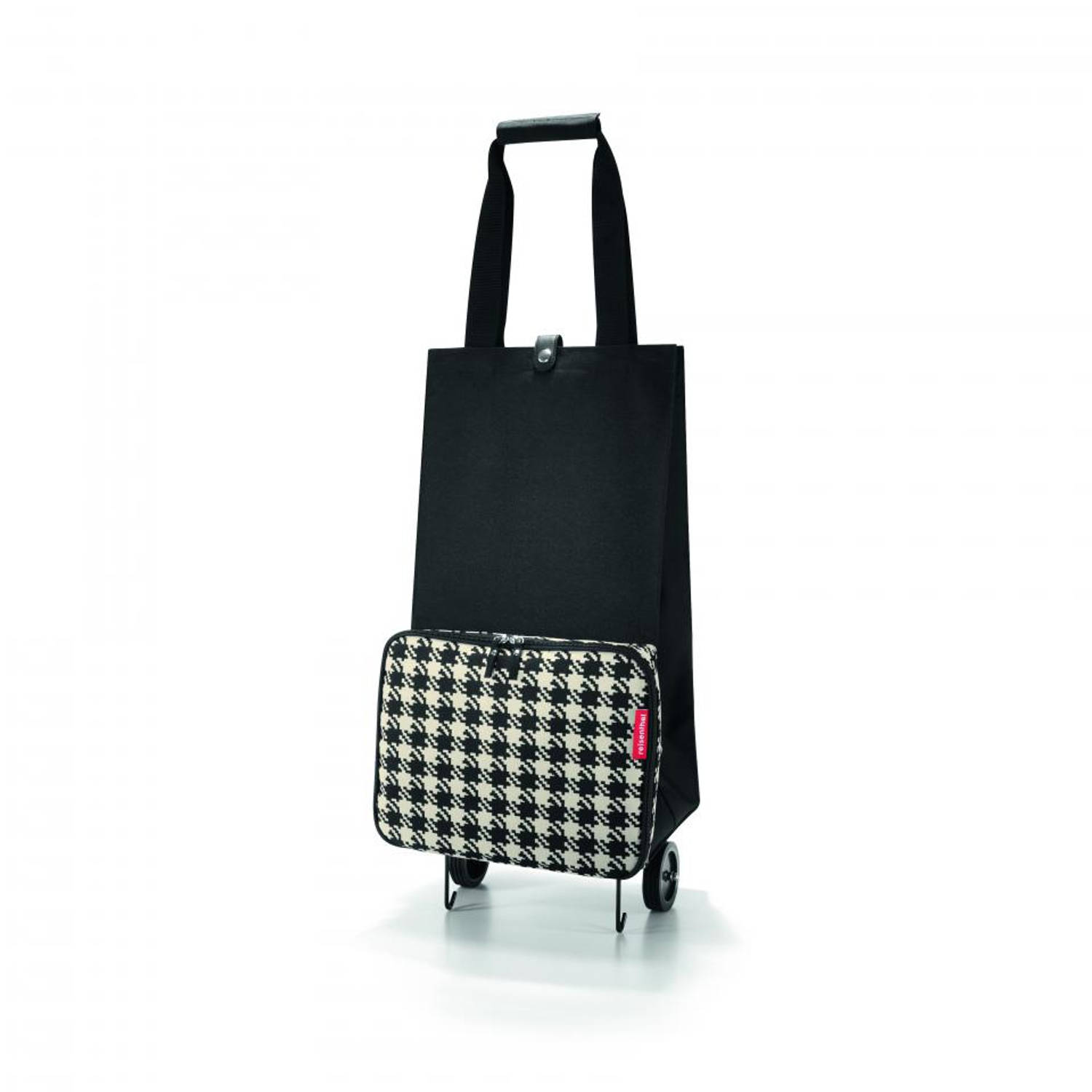 Reisenthel opvouwbare trolley - Fifties black - 30 liter