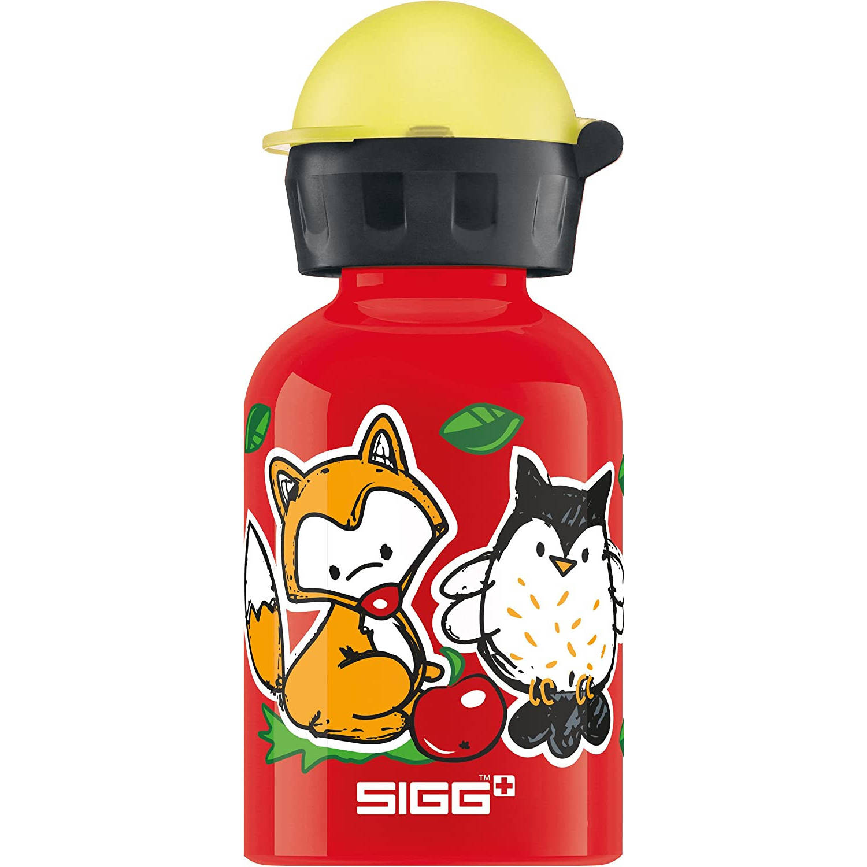 Sigg Drinkbeker Forest Kids Junior 0.3 Liter Aluminium Rood