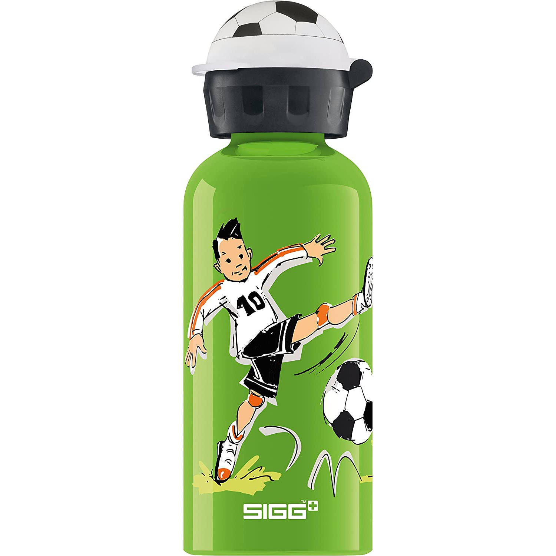 Sigg Drinkbeker Footballcamp 0.4 Liter 6.6 Cm Aluminium Groen