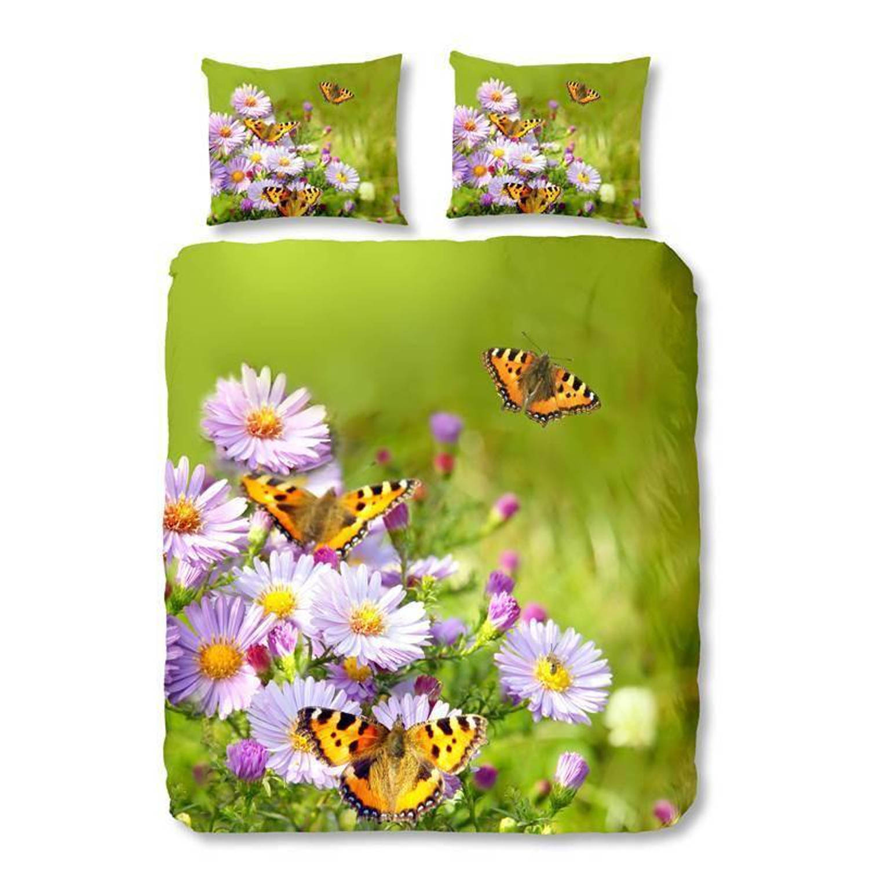 Good morning butterfly dekbedovertrek - junior (120x150 cm + 1 sloop)