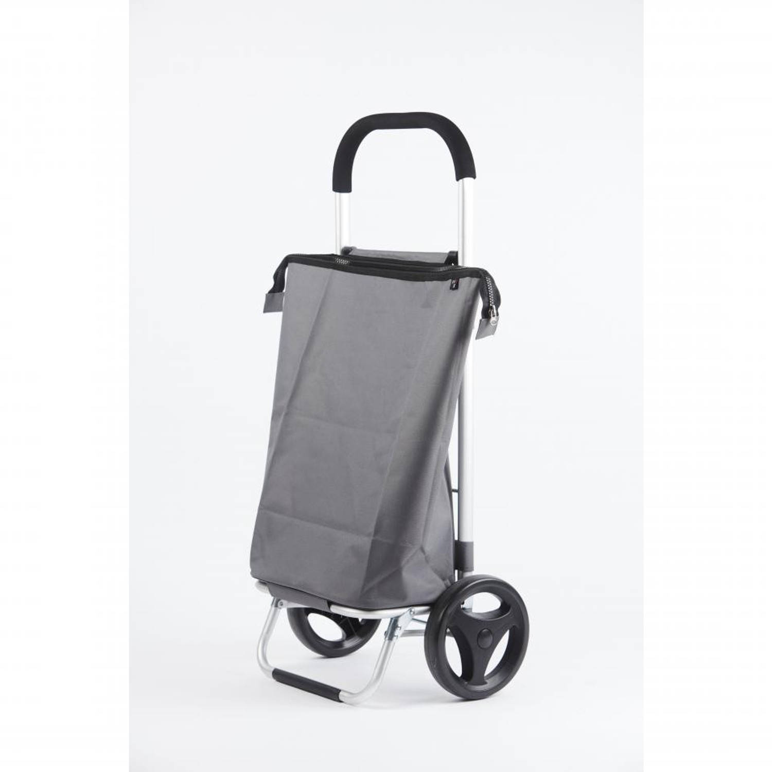 Rixx shopping trolley - 38 l - staalgrijs