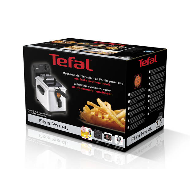 Tefal friteuse Filtra Pro FR5160 - RVS