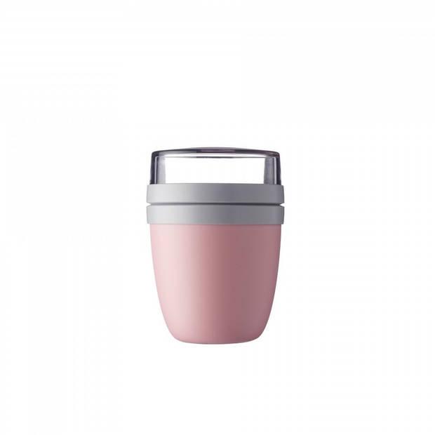 Mepal Ellipse yoghurtbeker - Nordic Pink