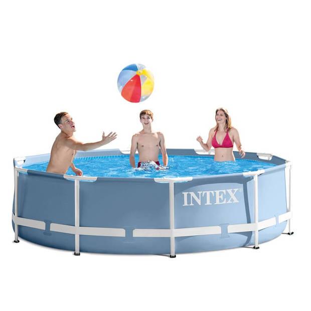 Intex Prism Frame opzetzwembad met filter - 305 x 75 cm