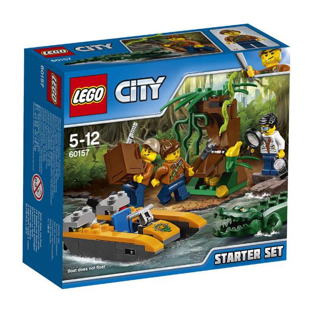 LEGO City jungle startset 60157