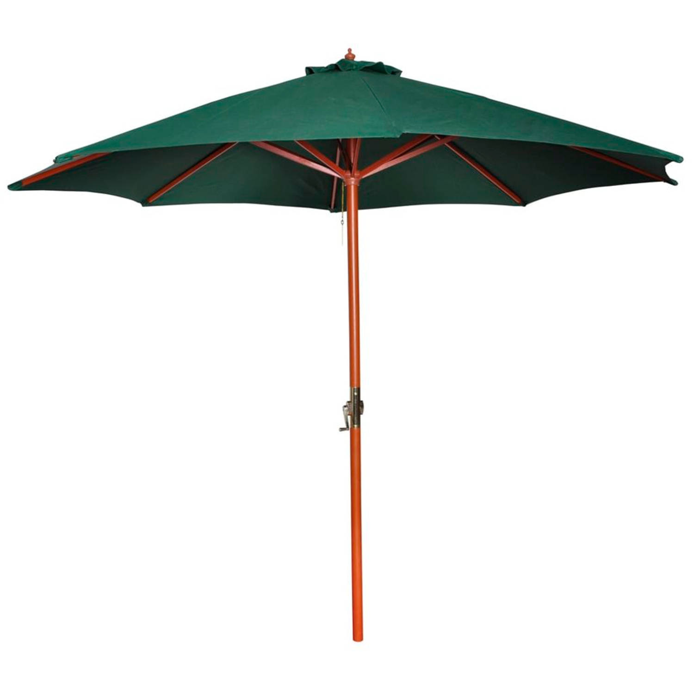 Vidaxl Parasol Apricis 300 Cm Groen