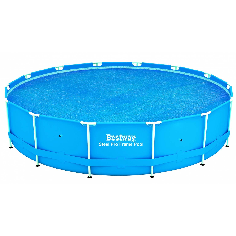 Bestway solar afdekzeil voor 427 cm zwembaden blokker for Afdekzeil zwembad blokker
