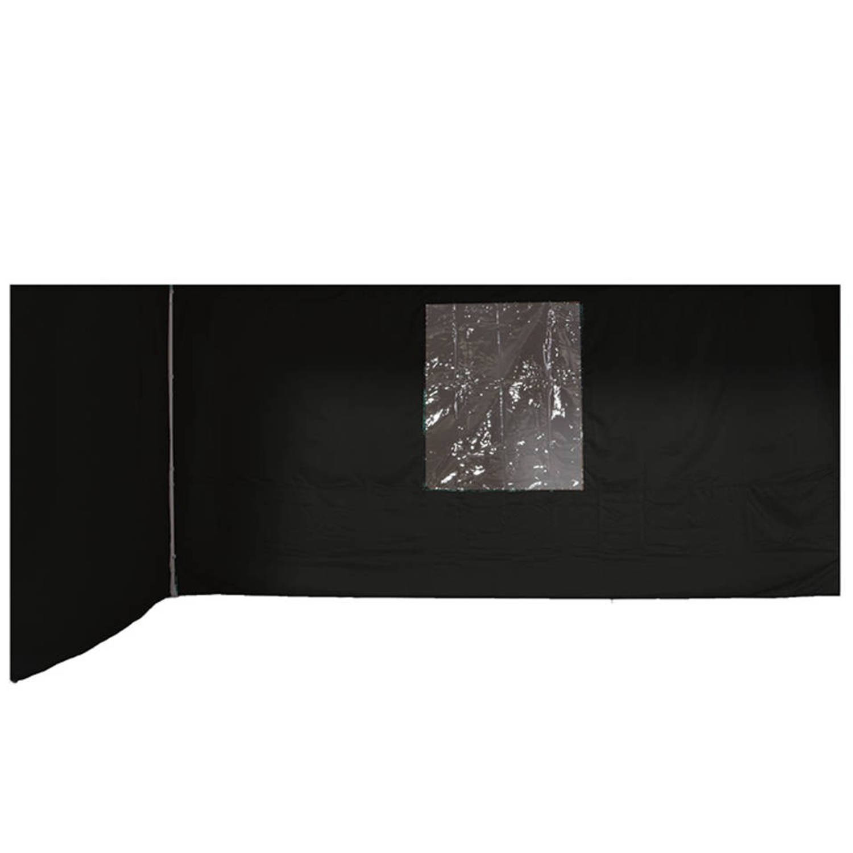 Garden Impressions Esprit set 2 zijwanden 2x3 donker grijs