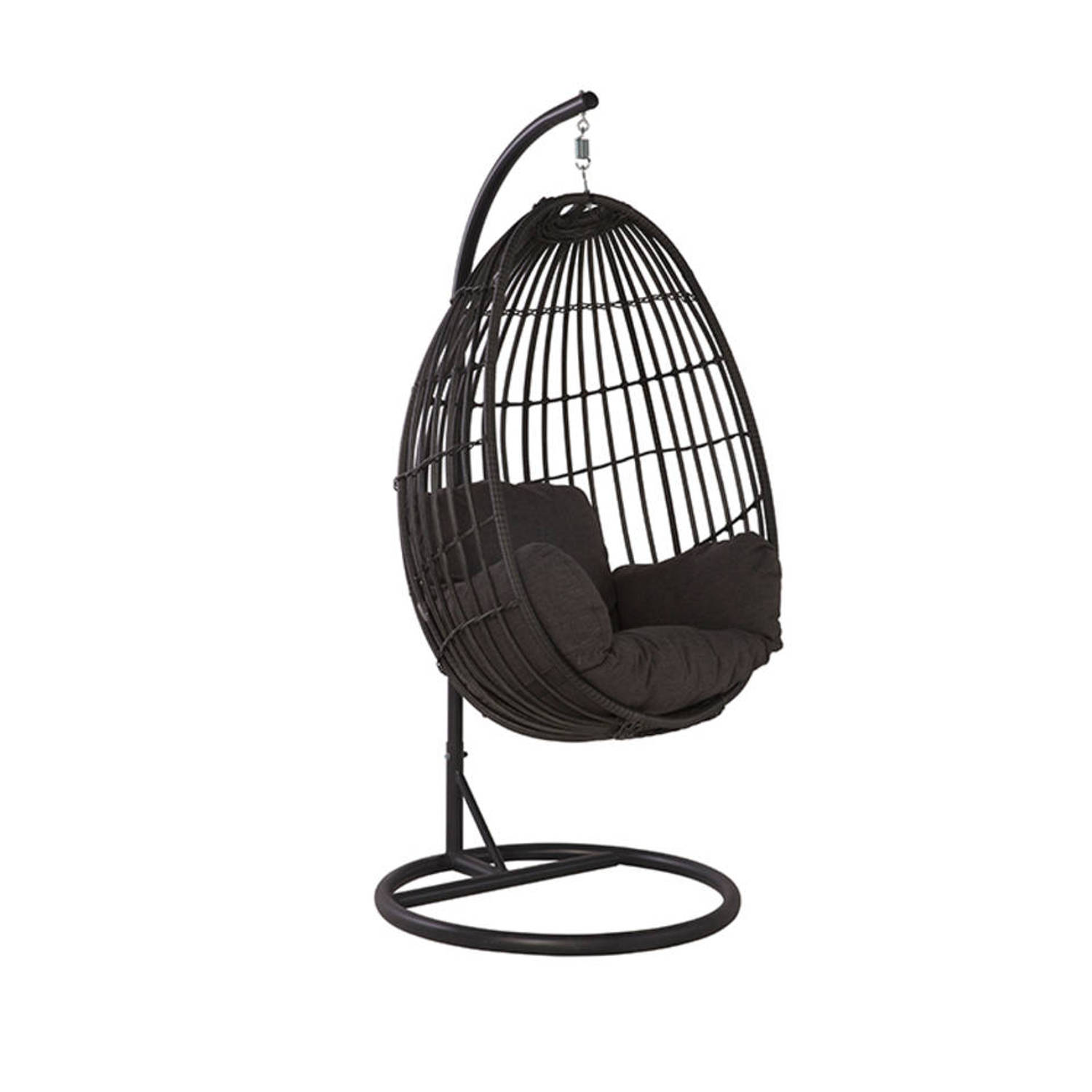 Hangstoel Met Frame.Contadora Hangstoel Egg Royal Grey Blokker