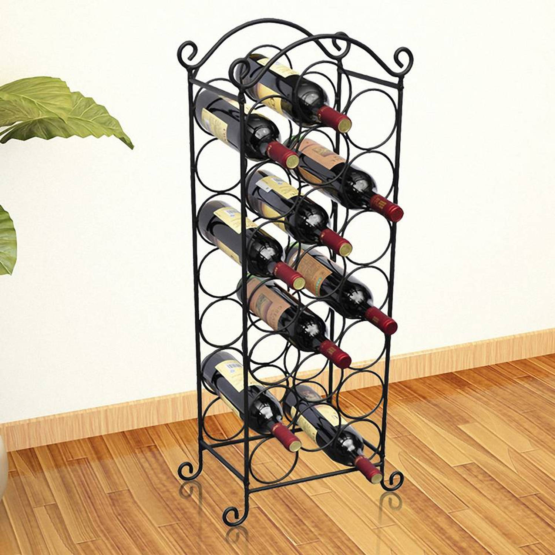 Metalen Wijnrek voor 21 Flessen