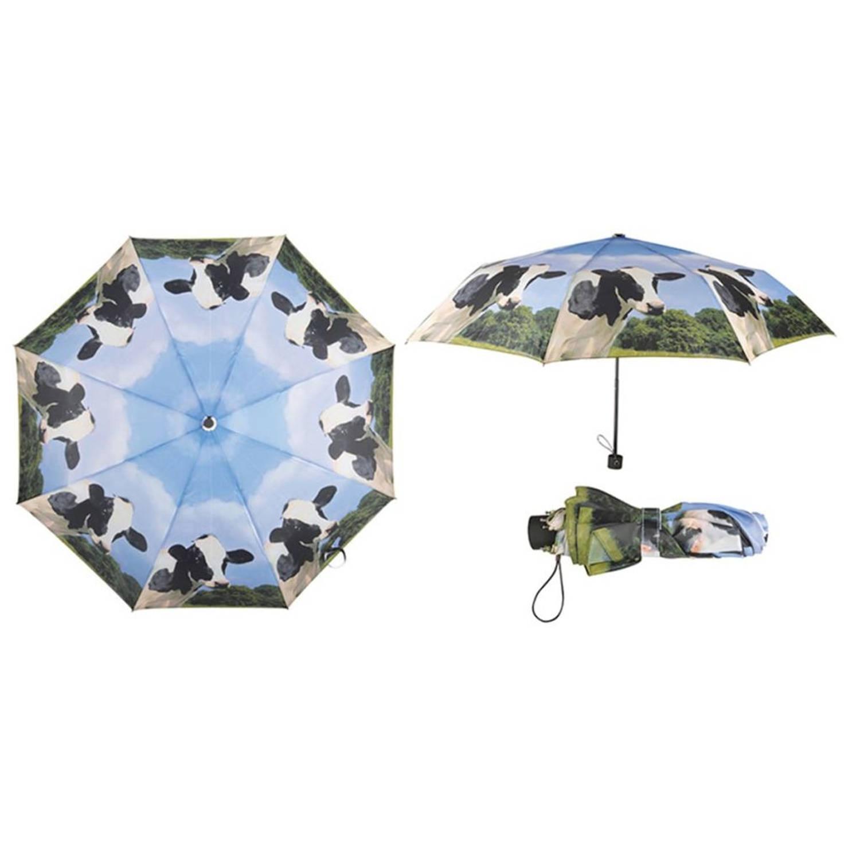 Esschert Design opvouwbare paraplu koe TP157