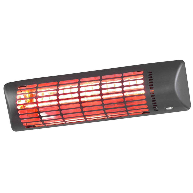 Eurom Elektrische Terrasverwarmer Q-time Golden 1800 1800 W Donkergrijs 334159