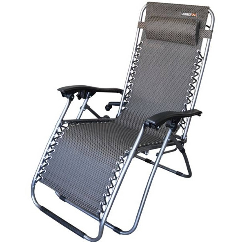 Afbeelding van Abbey Chaise Lounge ll Stoel Zwart