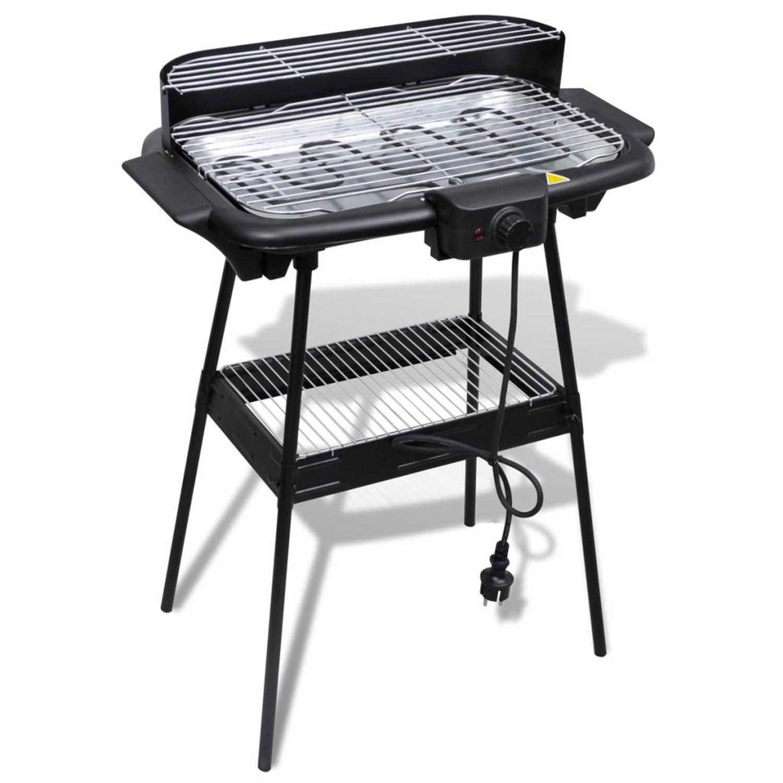 Elektrische Barbecue BBQ Rechthoek