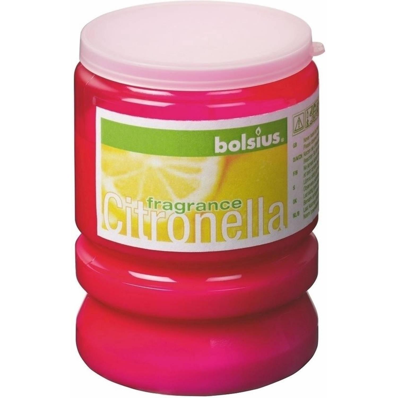 Bolsius Partylight Kaars - Fuchsia - Citronella - 12 stuks
