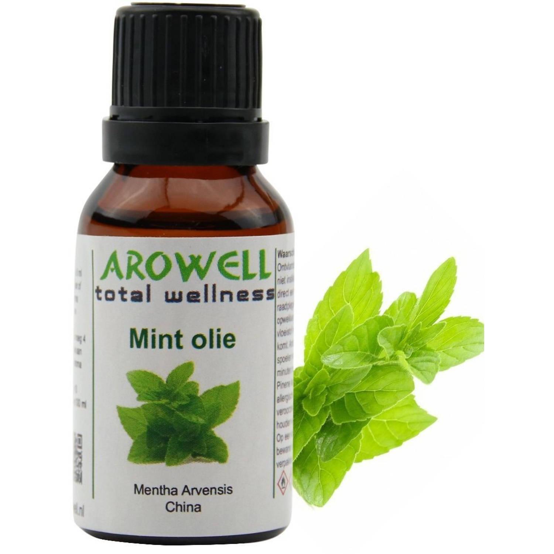 Arowell - Mint etherische olie - geurolie - sauna opgiet - 15 ml (Lavandula Angustifolia)