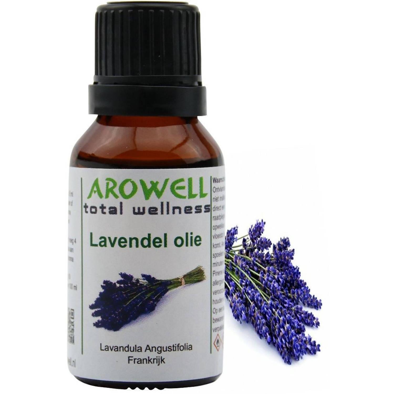 Arowell - Lavendel etherische olie - geurolie - sauna opgiet - 15 ml (Lavandula Angustifolia)