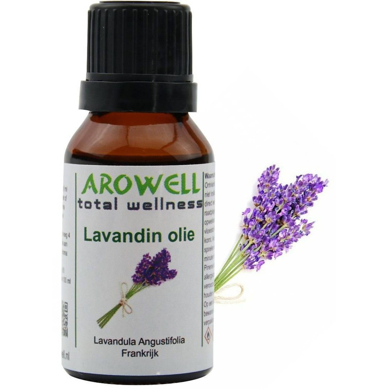 Arowell - Lavandin etherische olie - geurolie - sauna opgiet - 15 ml (Lavandula Angustifolia)