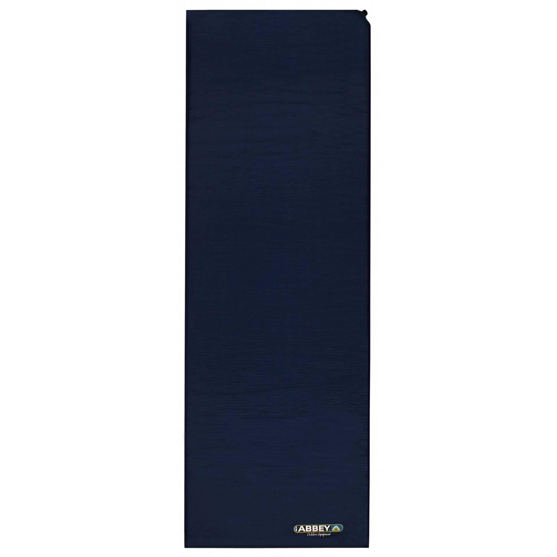 Afbeelding van Abbey Matras Zelfopblaasbaar 1-persoons 10 cm marine/blauw/lime