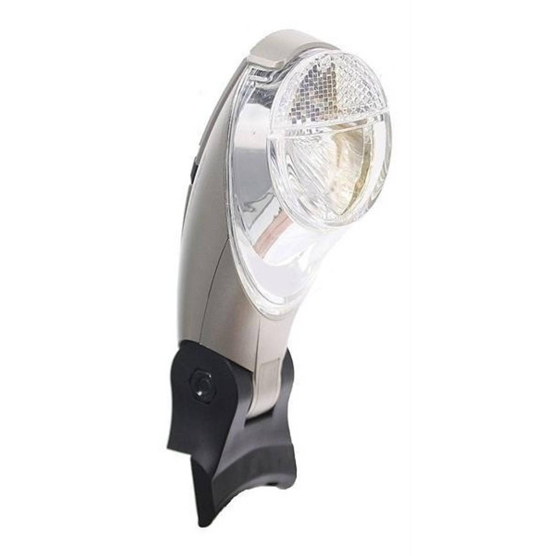 Batavus koplamp Swan Trelock Accu LED zwart-zilver