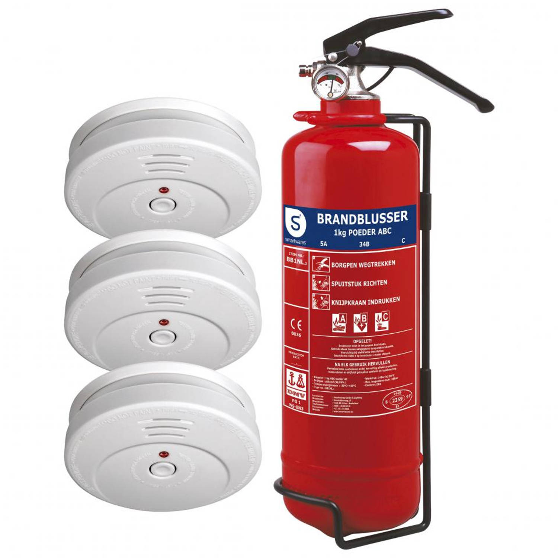Smartwares FSSB-15NL brandbeveiligingsset