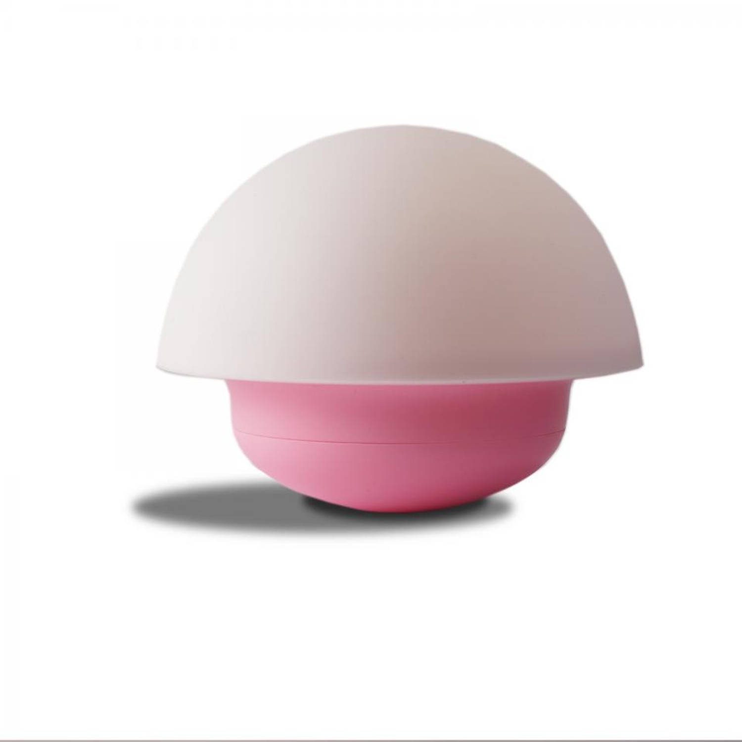 Flow Nuke LED nachtlamp - roze