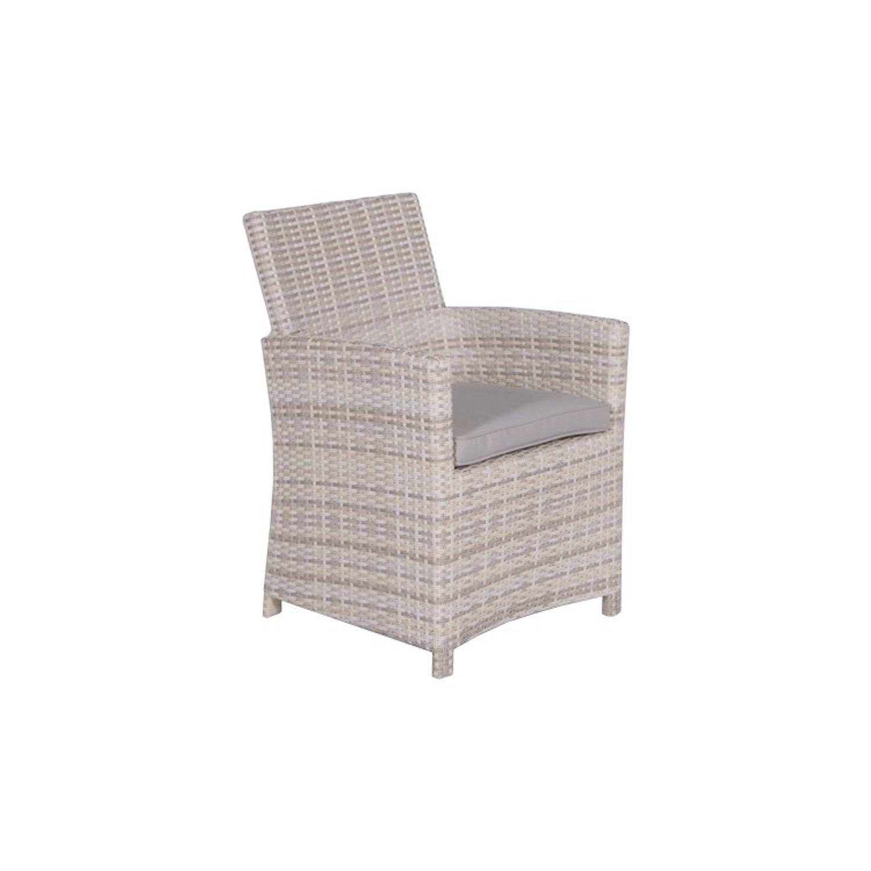 garden impressions jaru lounge dining stoel wicker ecru blokker. Black Bedroom Furniture Sets. Home Design Ideas