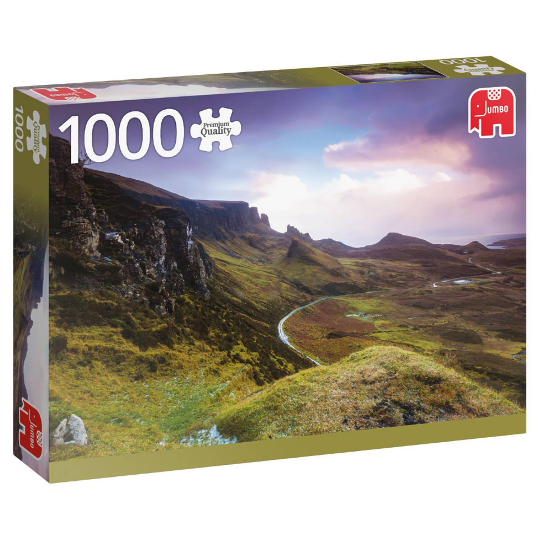 Jumbo puzzel Trotternish Ridge Schotland - 1000 stukjes