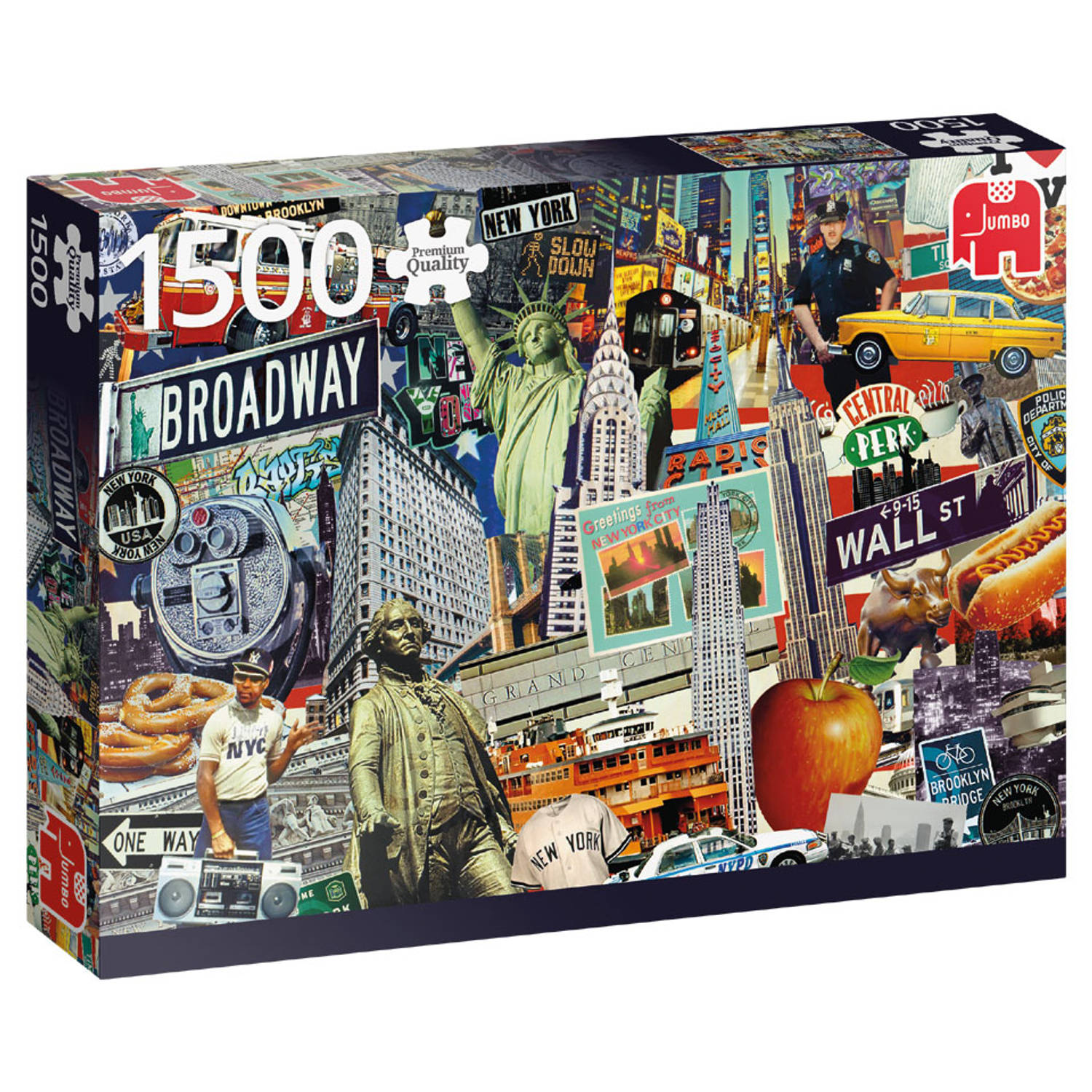 Jumbo puzzel best of New York