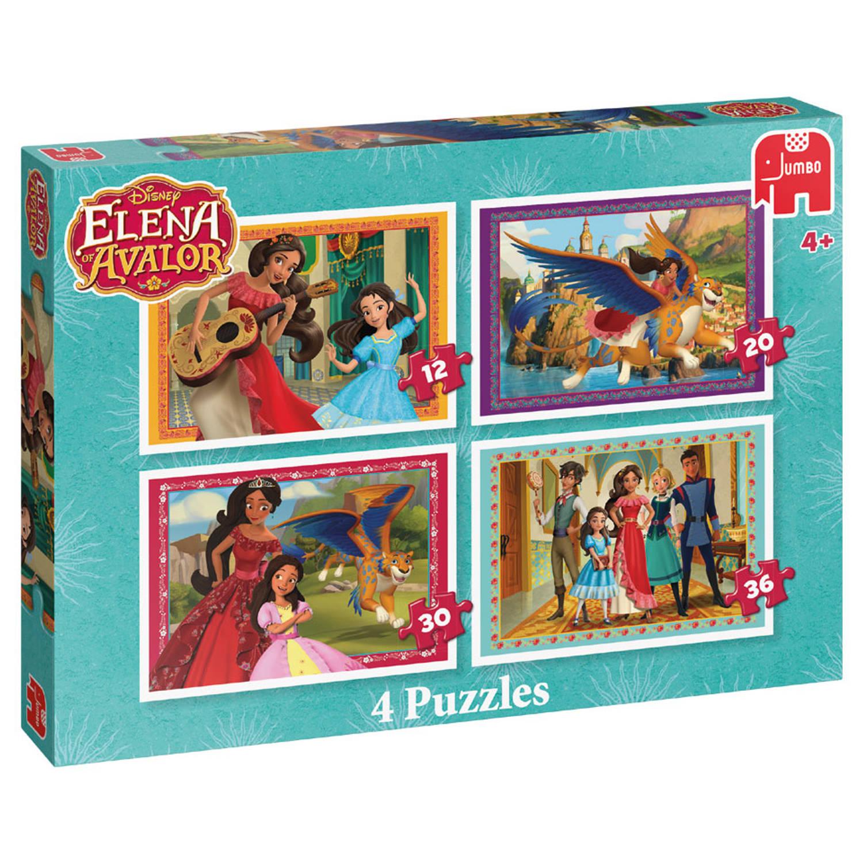 Disney Elena of Avalor 4 puzzles Traditioneel 14stuk(s)