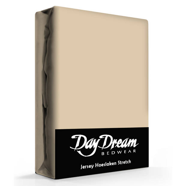 Day Dream Hoeslaken Katoen Zand-180 x 200 cm
