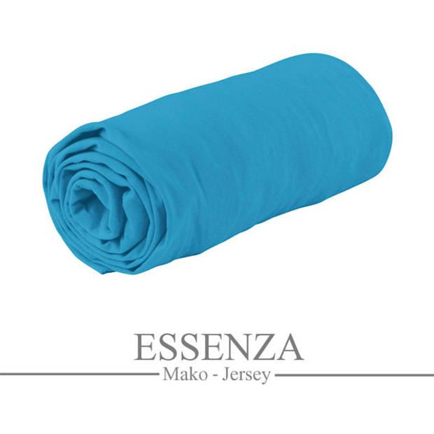 Essenza Mako Jersey Hoeslaken Turquoise-140/160 x 200/220 cm