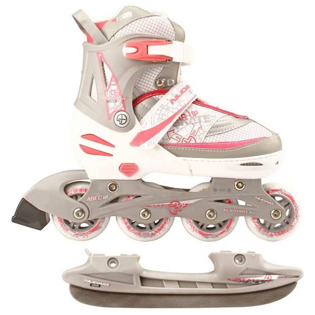 Nijdam junior skate/schaats combo maat 27-30 - wit