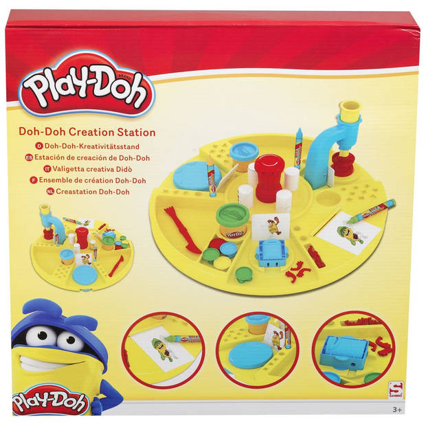 Play-Doh Klei set Doh-Doh knutsel station 41-delig