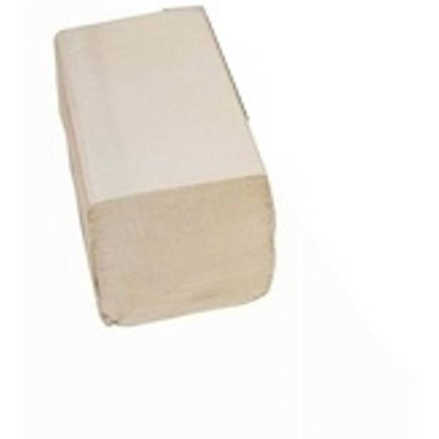 Euro Products Handdoek Papier Z-Vouw Naturel 23X25CM 250 St.
