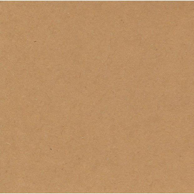 Pakpapier - Cadeaupapier - Inpakpapier - Bruin - 500 x 70 cm - 2 rollen