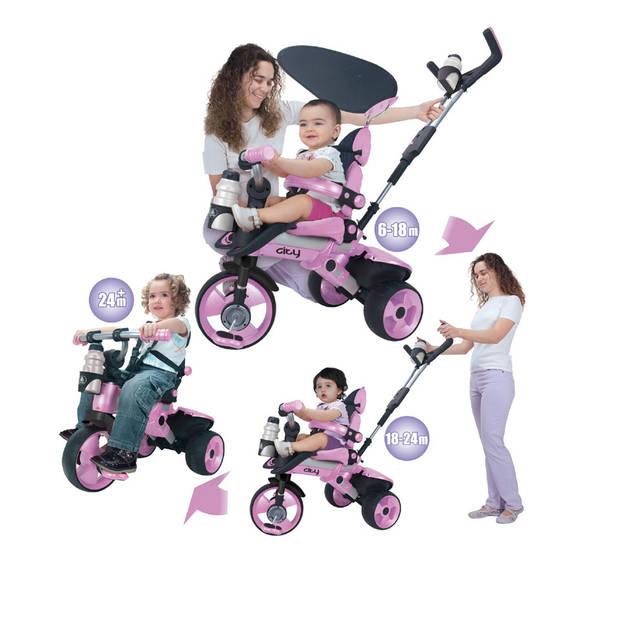 Injusa Trike City driewieler - roze