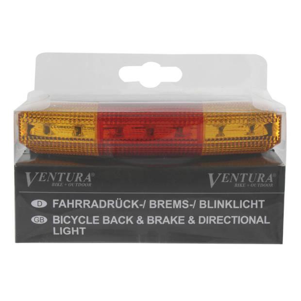 Ventura LED veiligheidslicht: remlicht en richtingaanwijzer