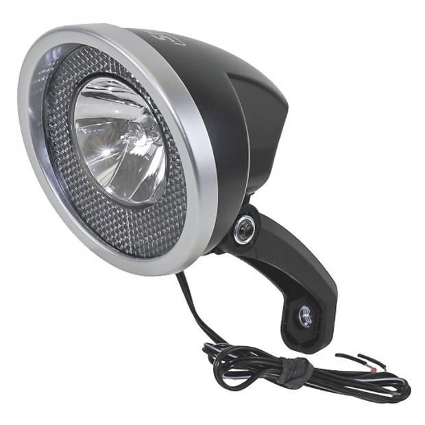Smart koplamp halogeen naafdynamo zwart