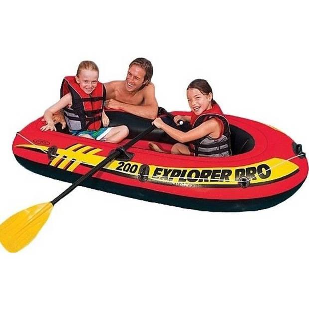 Intex Explorer Pro 200 opblaasboot - 196 x 102 x 33 cm
