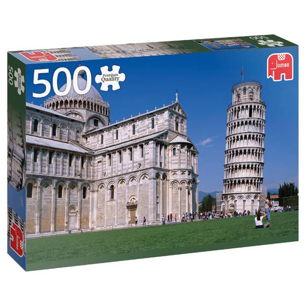 Jumbo puzzel toren van Pisa - 500 stukjes