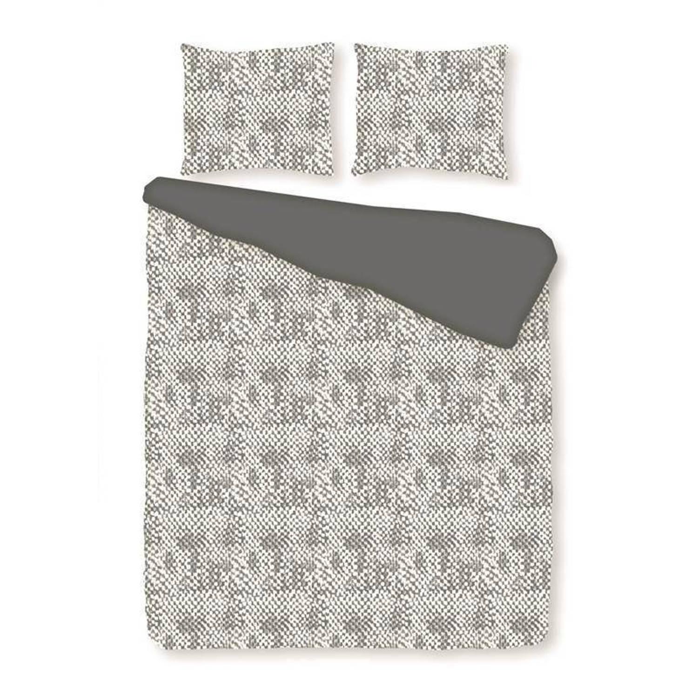 Romanette Harris flanel dekbedovertrek - 1-persoons (140x200/220 cm + 1 sloop)