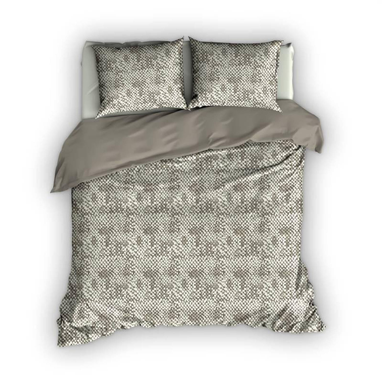 Romanette Harris dekbedovertrek - 100% katoen - 1-persoons (140x200/220 cm + 1 sloop) - 1 stuk (60x7