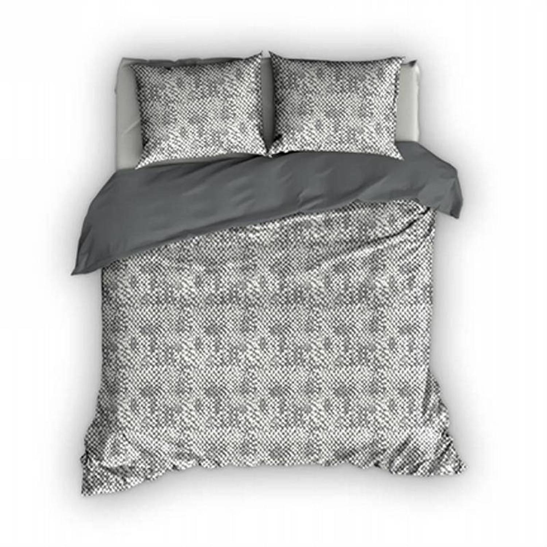 Romanette Harris dekbedovertrek - 100% katoen - 2-persoons (200x200/220 cm + 2 slopen) - 2 stuks (60