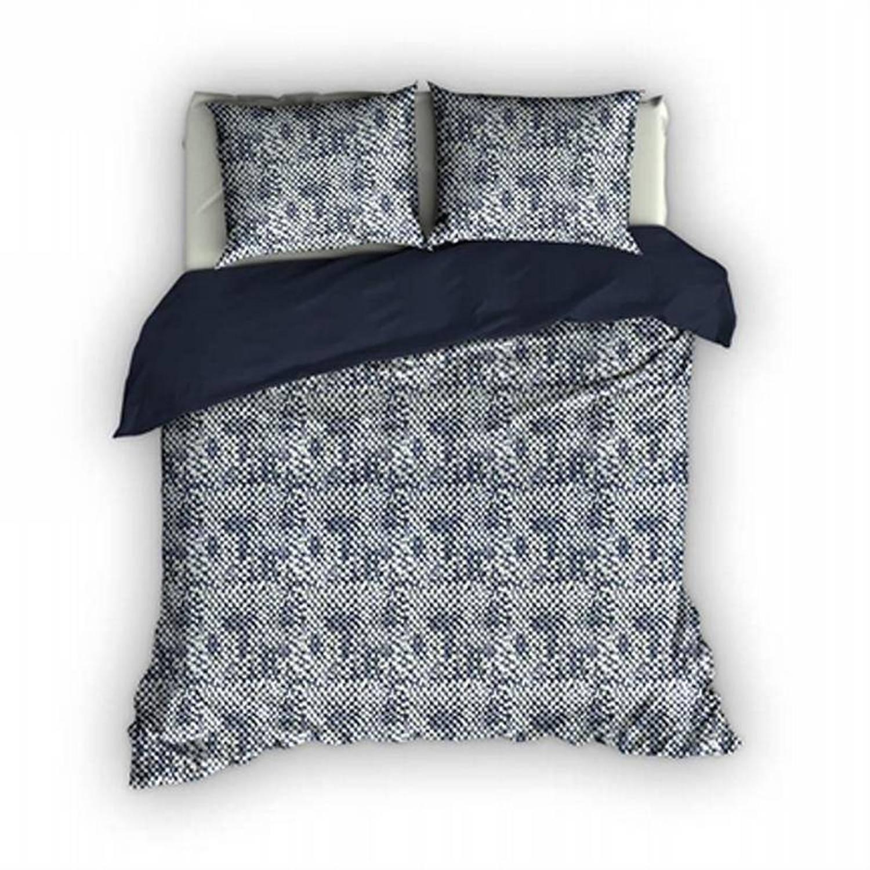 Romanette Harris dekbedovertrek - 100% katoen - Lits-jumeaux (260x200/220 cm + 2 slopen) - 2 stuks (